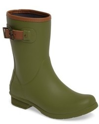 City solid mid height rain boot medium 4912469