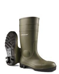 Olive Rain Boots
