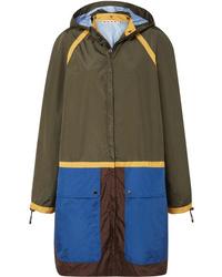 Marni Color Block Shell Jacket