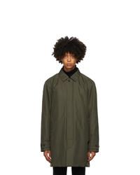 Z Zegna Green Mac Coat