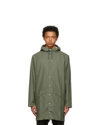 Rains Khaki Long Jacket