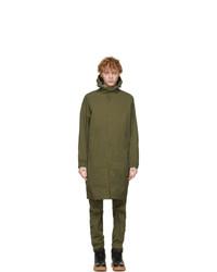 Helmut Lang Khaki Windbreaker Coat