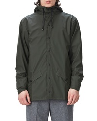 Rains Lightweight Hooded Rain Jacket