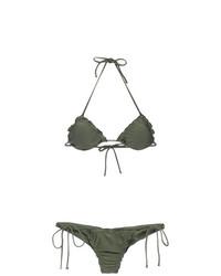 Lygia & Nanny Zaira Triangle Top Bikini Set
