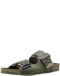 G Star Command Buckle Flat Sandal