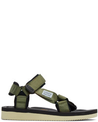 Suicoke Green Depa V2 Sandals