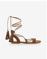 Express Multi Tassel Sandals