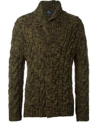 Cable knit cardigan medium 403603