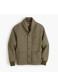 Fleece shawl cardigan medium 6874082