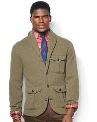 Polo Ralph Lauren Wool Blend Shawl Cardigan