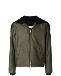 Marni Caped Bomber Jacket