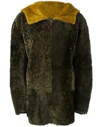 Sylvie Schimmel Hooded Shearling Jacket
