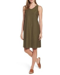 Eileen Fisher Soft V Neck Shift Dress