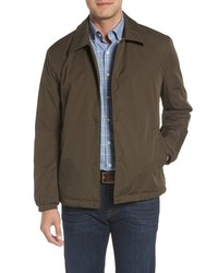 Cole Haan Signature Faux Shearling Lined Jacket