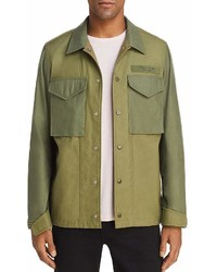rag & bone Flight Shirt Jacket 100%
