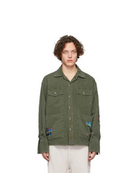 Greg Lauren Green Baker Boxy Jacket
