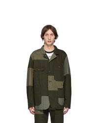 Engineered Garments Green Logger Jacket