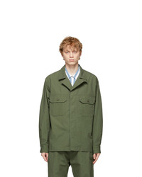 Engineered Garments Green Mc Shirt