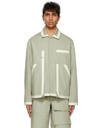 Jacquemus Grey Le Blouson Jacket