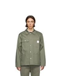 A.P.C. Khaki Carhartt Wip Edition Mishiguene Jacket