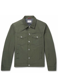 Brunello Cucinelli Slim Fit Shell Blouson Jacket