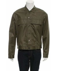 Strateas Carlucci Coated Shirt Jacket W Tags