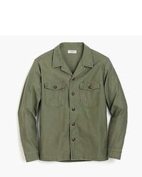 J.Crew Wallace Barnes Military Shirt Jacket