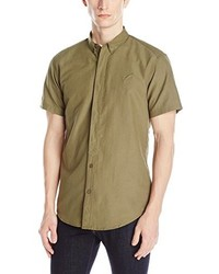Olive Short Sleeve Shirt