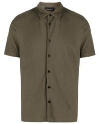 Roberto Collina Short Sleeve Cotton Shirt