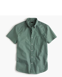J.Crew Short Sleeve Shirt In Green