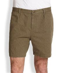 A.P.C. Army Camo Shorts
