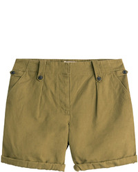 Burberry Brit Carlby Cotton Linen Shorts