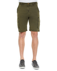 Robert Graham Globetrotter Cargo Shorts Olive
