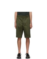 Prada Green Chino Shorts