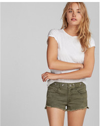 Express Low Rise Grommet Shorts