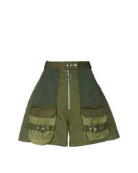 MARQUES ALMEIDA Marquesalmeida High Waist Military Shorts