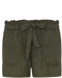 Dorothy Perkins Petite Paperbag Waist Shorts