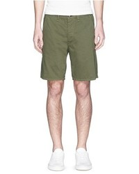 Rag and Bone Rag Bone Standard Issue Cotton Twill Shorts