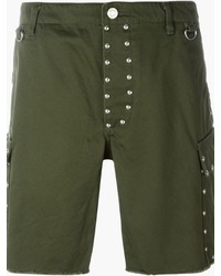 Saint Laurent Studded Cargo Shorts