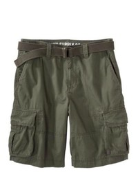 SG Corporation Mossimo Supply Co Cargo Shorts Olive Green 28