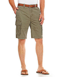 Cremieux Jeans Solid Cargo Shorts