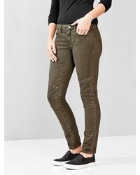 Gap 1969 Quilted Moto Always Skinny Jeans