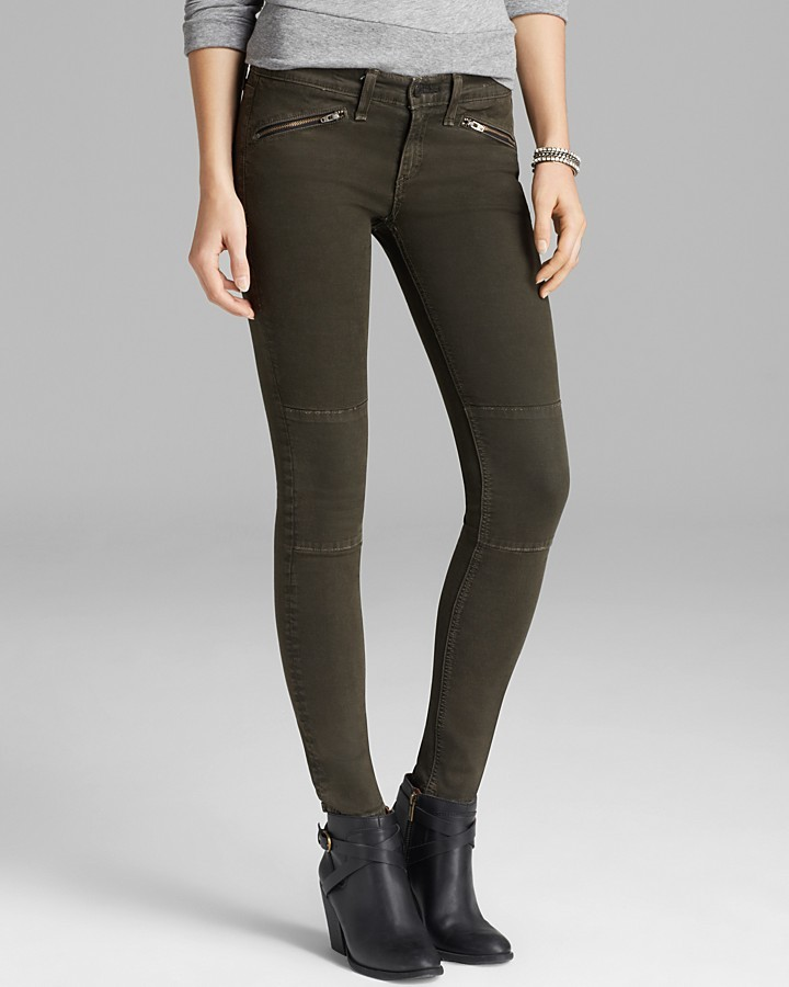 moto leggings olive. olive skinny jeans rag and bone bonejean leggings ridley moto denim with knee patches