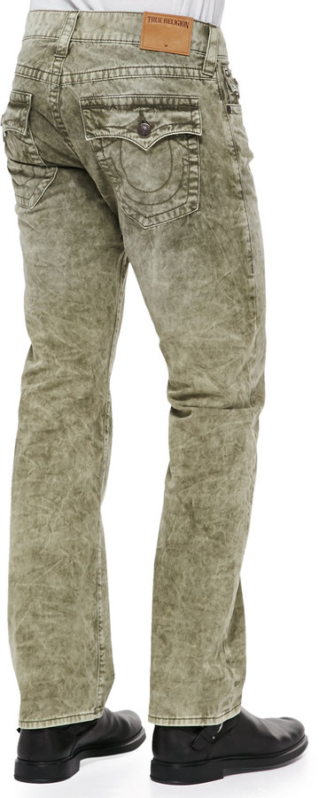 293d3f6e4e9 ... True Religion Ricky Green Marbled Jeans ...