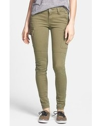 Olive Skinny Pants