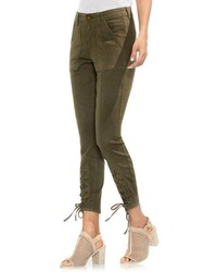 Lace up cuff d luxe pants medium 8680593