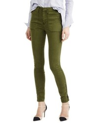 J.Crew Zip Ankle Stretch Skinny Cargo Pants