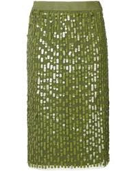 Twin-Set Sequinned Skirt