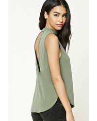 Forever 21 V Cut Back Top