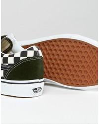 ... Vans 50th Anniversary Old Skool Sneakers In Green Va31z9lvj ... f375733aa